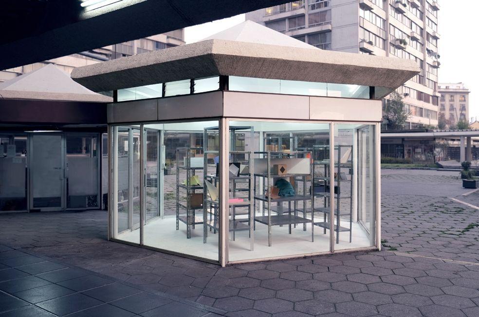 Instalación Intrusiones, Ricardo Alcaide en Galería Tajamar 2013
