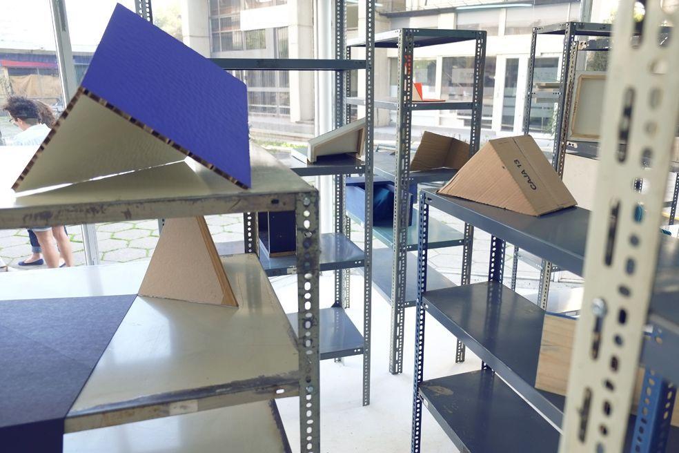 Detalle de la instalación Intrusiones, 2013