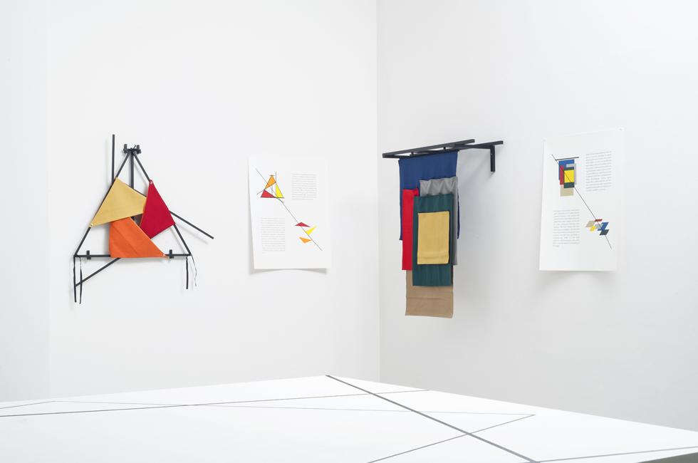Figures of Speech (Formation of a Crystal) de Falke Pisano en la exposición Ways of Working: The Incidental Object en la Fondazione Merz