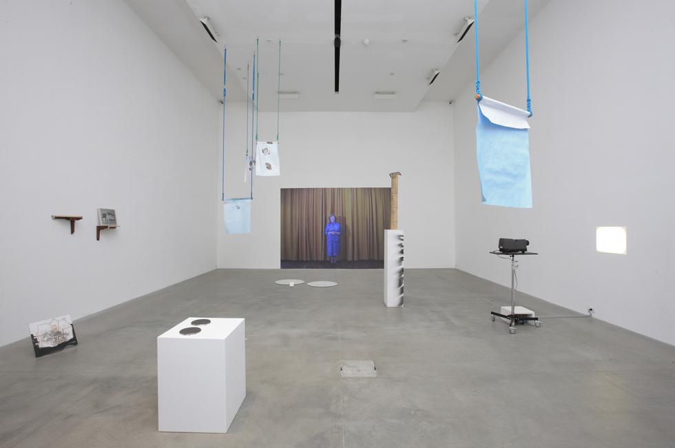 Vista de la exposición Veerle en la Fondazione Sandreto.