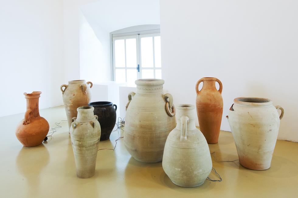 Instalación My Head is a Box de Vanessa Safavi en el Castello di Rivoli.