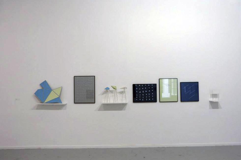 Vista de la instalación de Raisa Bosich en Sub30. Museo de arte contemporáneo MAC, 2014