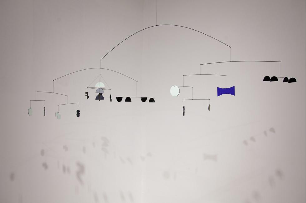 Vista de la exposición Hermiscambunalia de Ignacio Gatica en galería Die Ecke, Santiago de Chile. 2014