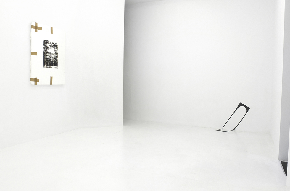 After A Hippie Jump. Vista de la exposición en galería L21, 2014